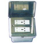 康普HTD-8P 二位二极双用插座 二位多功能插座图片