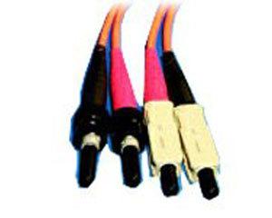AMP ST-SC多模双芯光纤跳线AMP5492591-3图片