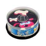 啄木鸟CD-R光盘50片装 (动漫/每片) 盘片/啄木鸟