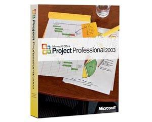 微软Project 2003(中文标准版)图片