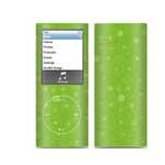 冠犀ideaSkin 苹果 iPod nano 四代 个性皮肤 几何的呼吸-浅绿 数码配件/冠犀