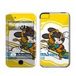 冠犀ideaSkin 苹果 iPod touch 个性皮肤 滑板小老鼠 数码配件/冠犀
