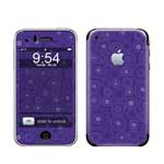 冠犀ideaSkin 苹果 iPhone 3G 个性皮肤 几何的呼吸-蓝色 数码配件/冠犀