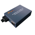 N-net 10/1000M单模收发器(电源内置式)