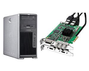 科卓4300-IO HD 非编工作站(Xeon E5405*2/4GB/1000GB*4)图片