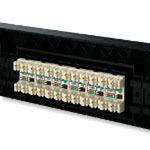 AMP 406330-1超五类非屏蔽24口配线架