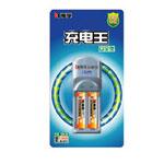南孚充电王+2节标准型5号1350毫安电池 电池/南孚