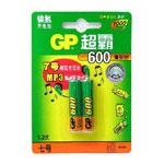 GP超霸600mAh 7号电池 电池/GP超霸