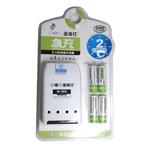 圣奇仕S608急充充电器套装(含4节2300毫安5号充电电池) 电池/圣奇仕