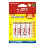 龙威盛4节AA镍氢电池 2500mAh 电池/龙威盛