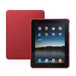 iGlaze iPad- (防刮极简保护外壳-红)