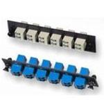 AMP LC双口12芯多模适配器板AMP1374463-6 光纤线缆/AMP