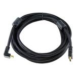 山泽90度HDMI线 5米 转接数据线/山泽
