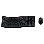 微软舒适曲线3000键鼠套装 键鼠套装/微软