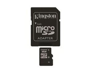 金士顿Micro SD/TF卡 Class10(8GB)图片