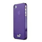 古古美美ivso iPhone4S/4 格子纹手机壳 苹果配件/古古美美