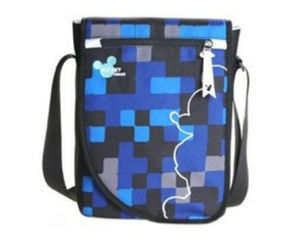 迪士尼DNC1108188 11.1英寸斜挎电脑包(蓝)