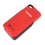乐歌PCH104-RED iphone4/4s背夹电池/外置电池/移动电源 红色 苹果配件/乐歌