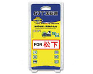 GJT国际通数码摄像机镍氢电池(松下G-M9000)图片