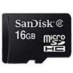 闪迪Micro SDHC/TF卡 Class2(16GB) 闪存卡/闪迪