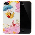 迪士尼IPH4030613WD 维尼冒险之雨中飘伞(白色) 苹果配件/迪士尼