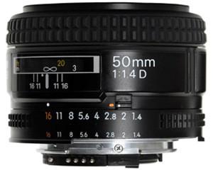 尼康AF 50mm f/1.4D图片