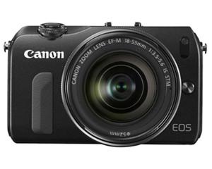 佳能EOS M双头套机(EF-M 22mm,18-55mm)