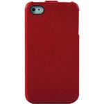 爱国者sk201 iPhone4s\iphone4真皮保护套(红色) 苹果配件/爱国者