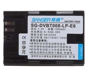 桑格LP-E6 数码电池