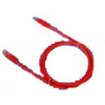 德高 超5类PVC护套 RJ45/RJ45 屏蔽跳线1米 综合布线/德高