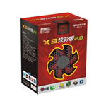 超频三X5炫彩版2.0 电源/超频三