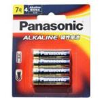 松下 LR03BCH/4B 碱性7号电池 4粒装 数码配件/松下