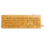 奔步KU308-N三键区有线全竹键盘 键盘/奔步