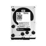 西部数据4TB 7200转 64MB SATA3 黑盘(WD4001FAEX) 硬盘/西部数据