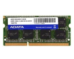 威刚8GB DDR3 1600(笔记本)图片