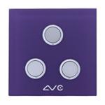LVC 智能双模照明开关三键LVC8603B