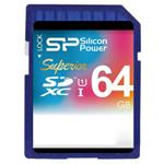 广颖电通SDXC Superior 高速相机存储卡 UHS-I support Class10(64GB) 闪存卡/广颖电通
