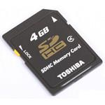 东芝SDHC Class4(4GB)/SD-K04GR7W4 闪存卡/东芝
