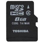 东芝MicroSDHC Class4(8GB)/SD-C08GR7W4 闪存卡/东芝