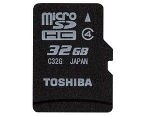 东芝MicroSDHC Class4(32GB)/SD-C32GR7W4图片