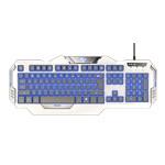 宜博极光狂蛇K709背光游戏键盘 键盘/宜博