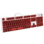 明基KX890天机镜彩色版红轴机械键盘 键盘/明基