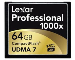雷克沙Professional 1000x CF卡 (64GB)图片