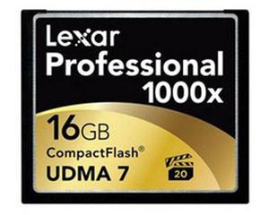雷克沙Professional 1000x CF卡 (16GB)图片