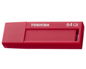 东芝标闪 USB3.0 TransMemory(64GB)(V3DCH-64G-RD)图片