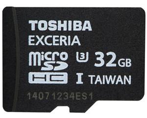 东芝极至瞬速 EXCERIA microSDHC UHS-I卡(32GB)图片