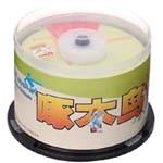 啄木鸟DVD+R光盘50片装(运动/每片) 盘片/啄木鸟
