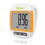 Meilen 卡路里多功能跑步手表走路计数记步器(橙) 运动跟踪/Meilen