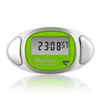 Meilen 多功能计步器心率脉搏走路计数(绿) 运动跟踪/Meilen