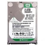 西部数据2TB 5400转 8MB SATA3 绿盘(WD20NPVX) 硬盘/西部数据